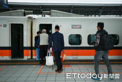 強颱來襲!高鐵9日「台中站以北全天停駛」