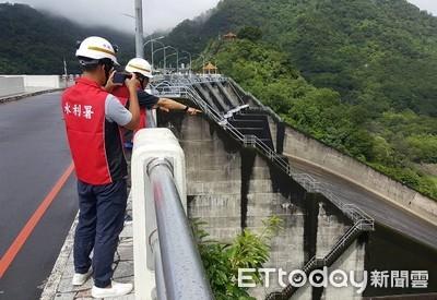 颱風加強震 北水局加強水庫檢查