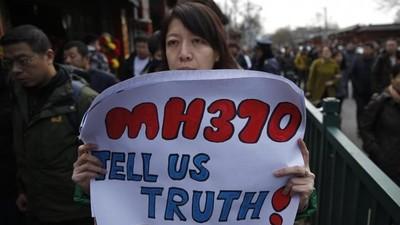 馬航370班機還未找到?政府說謊給錯誤地點...239人仍下落不明