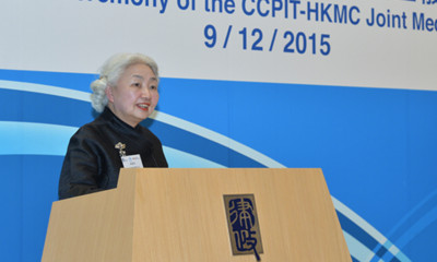 梁愛詩:香港要將精力放到經濟和民生