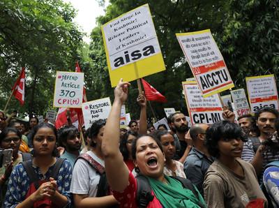 印度鎮壓喀什米爾逮捕500人