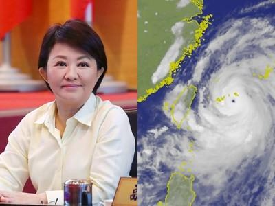 不放颱風假 盧秀燕臉書今風向逆轉