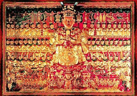 ▲▼雒龍王的浮雕。(圖/翻攝自維基百科)