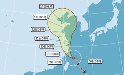 CNN:利奇馬風力「降級」須嚴防暴雨