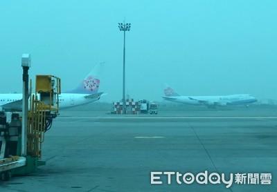 利奇馬襲台 桃機504航班受影響