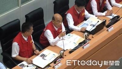 蘇貞昌:颱風假有沒有放是一回事「政府把國人安全當大事」