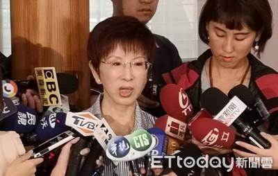 洪秀柱參選台南立委 韓國瑜大讚:巾幗不讓鬚眉