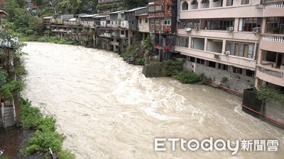 利奇馬颱風襲台 土石流紅色警戒7條
