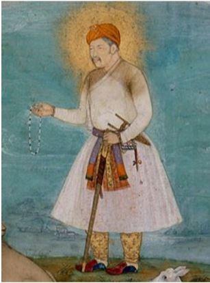 ▲阿克巴、瑪麗亞姆畫像。(圖/翻攝自Wikipedia)