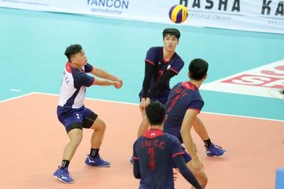 亞洲U23中華男排11日戰印度爭首金