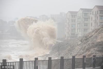 55萬人受災、93間民房倒塌 利奇馬肆虐重創浙江溫嶺