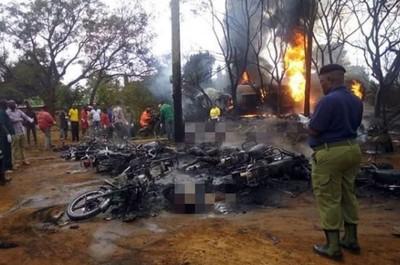 坦尚尼亞油罐車爆炸 至少57死