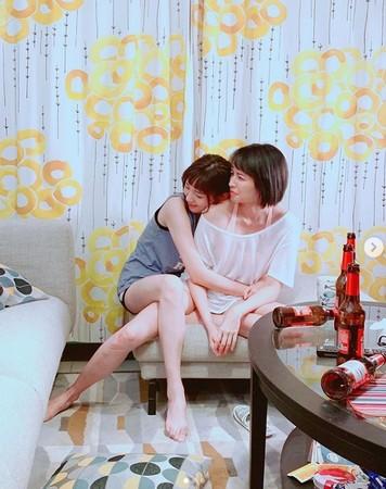 ▲郭雪芙、袁艾菲無論在戲裡、戲外都是閨蜜。(圖/翻攝自郭雪芙Instagram)