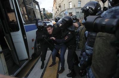 莫斯科5萬人上街「要求公平選舉」