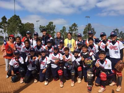 U19女壘世界盃中華隊戰績1勝1敗