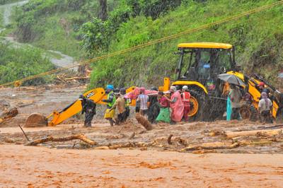 印度山體坍方毀家園 16.5萬人撤離躲洪災