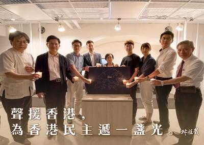 港機場停飛桃機緊急應變 林佳龍:民主是台灣唯一出路