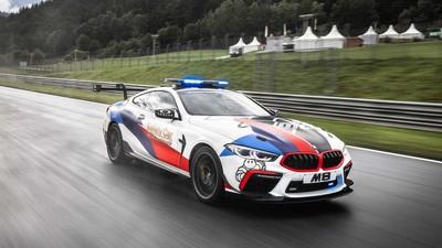 BMW M8擔任MotoGP安全車