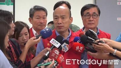 韓國瑜遭爆中午才上班 侯友宜:其實市長很辛苦