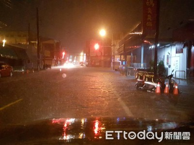 氣象局示警:明凌晨大雷雨恐再襲中南部