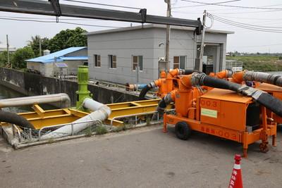 豪大雨影響 嘉義縣成立應變小組普設抽水機