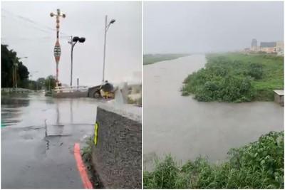 豪雨襲擊中南11縣市!高雄、雲林、彰化一級淹水警戒