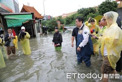台南市政府宣布 明天正常上班課