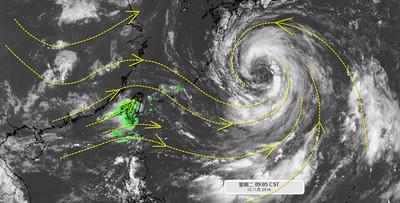 專家一張圖解釋強西南風暴雨!