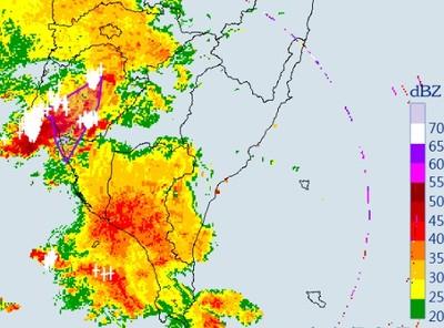 大雷雨即刻再炸「台南、高雄」