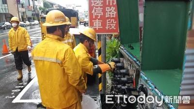0813豪雨台南停電3237戶