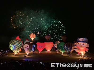 熱氣球嘉年華閉幕 吸引百萬人潮22億商機
