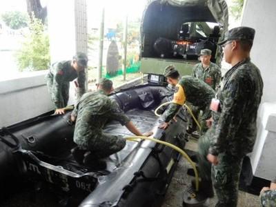 迎戰台南、高雄淹水災情 國軍已整備340兵力