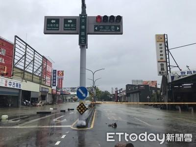 台南12區道路橋梁持續封閉