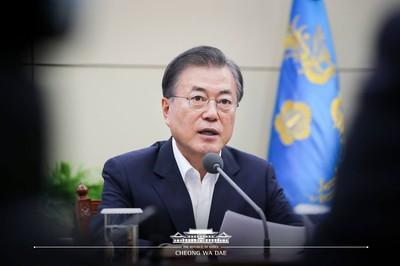 文在寅:日韓貿易戰已做好長期打算