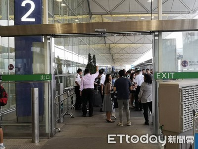禁制令發威 沒機票不得進香港機場