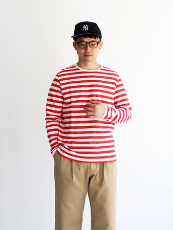 ▲橫條紋T-shirt。(圖/FACY提供)