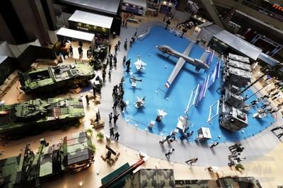 台北航太展大型無人機吸睛