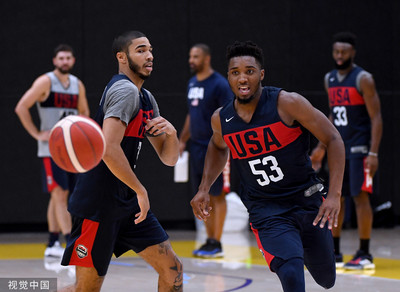 FIBA評世籃賽各國戰力美國仍第1