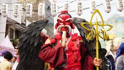 別有刻板印象!日本傳說天狗是「天菜美男子」 紅臉紅鼻是面具