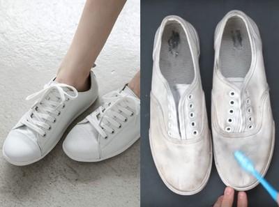 超齊全「白球鞋」清潔術