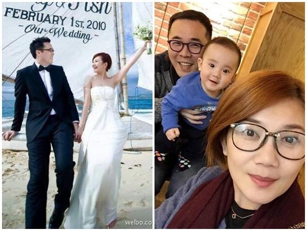 ▲梁靜茹和趙元同離婚。(圖/翻攝自梁靜茹臉書)