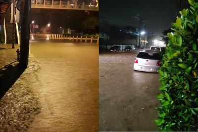 彰化大雨水淹及腰 20年來最嚴重