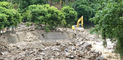 豪大雨狂炸中南部 6縣市土石流警戒152條