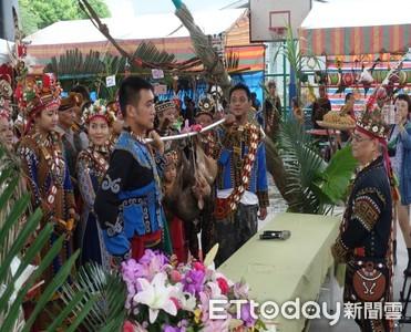 八八風災10年 阿禮部落小米祭分享生態旅遊
