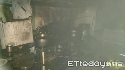 即/台東渡假飯店火警 濃煙狂竄