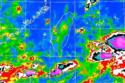 大雨擴北部!一張圖看降雨熱區移到市區