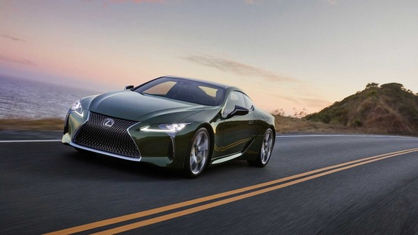 ▲2020 Lexus LC Inspiration Series。(圖/翻攝自Lexus)