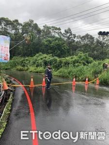 受大雨影響 屏35線2公里處坍方還未搶修