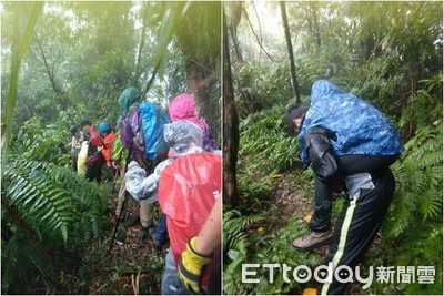 陪中暑婦下山…石碇登山隊7人遭雷擊