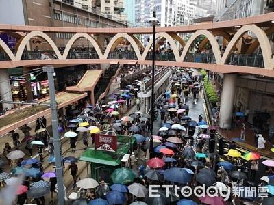 反送中衝擊香港經濟